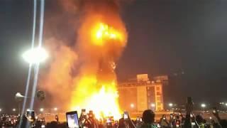 World's biggest ravan Blast | 30 लाख हुए भस्म | अभी देखिए | Ravan Dahan | Panchkula