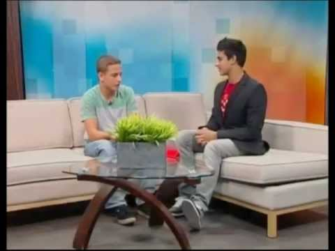 Talkshow Michael Chaves Gymnastics Power Tumbling ROGERS TV