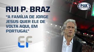 """""""JESUS NÃO QUER OUVIR O BENFICA ATÉ QUARTA""""; Rui Pedro Braz, jornalista (Entrevista Completa)"""