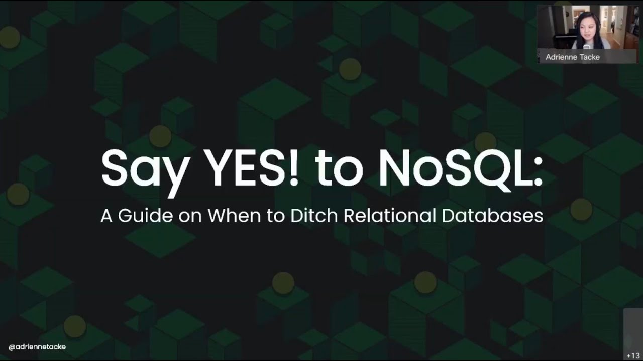 Say YES! to NoSQL: A Guide on When to Ditch Relational Databases