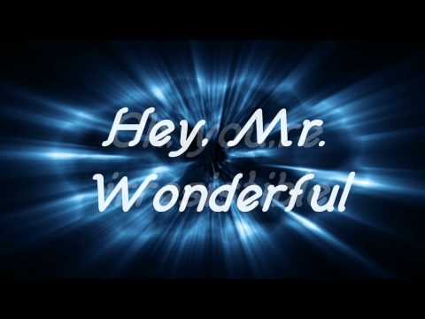 [HD] Smile.dk - Mr. Wonderful (Lyrics)