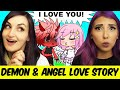 A Demon & Angel Fall In Love??? | Gachaverse Story Reaction w/LaurenZSide