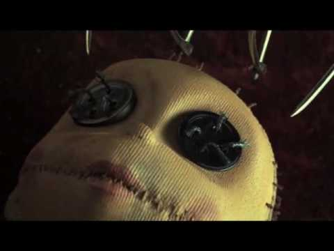 New Coraline trailer, beautiful 3D stop motion animation
