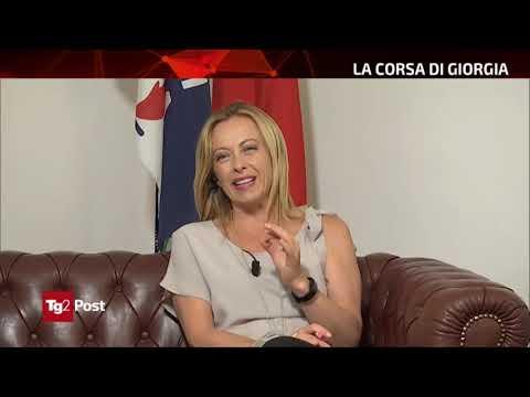 Non perdetevi intervista di Giorgia Meloni al Tg2 Post