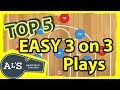 Best EASY 3 on 3 Basketball Plays For Kids