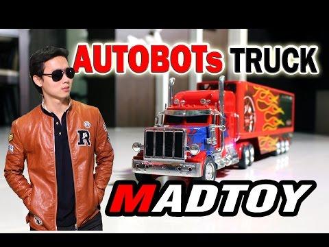 MADTOY ตอนที่176 ขายรถหัวลากบังคับวิทยุ Rc Truck Autobot 1200บาท