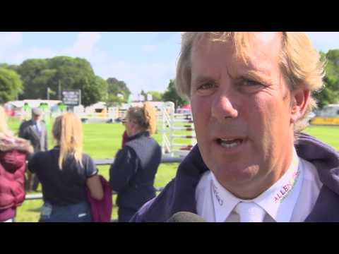 Showjumping - William Funnell on the Billy Horses