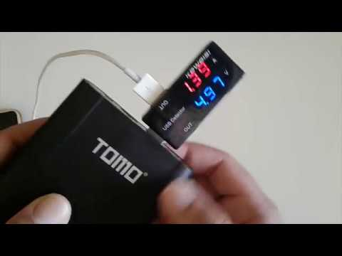 TOMO M4 Smart Power Bank Charger Battery DIY Case (18650s Needed)