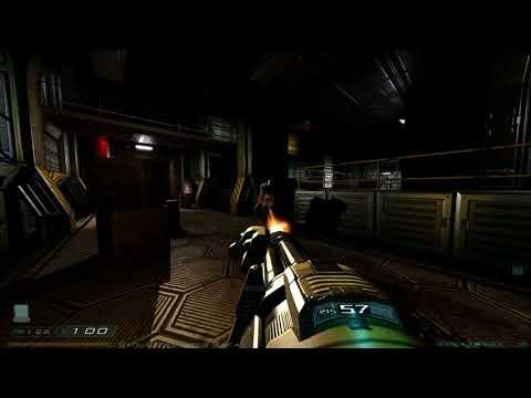 Doom 3: Redux - Level 14: Monorail: Facility Transport