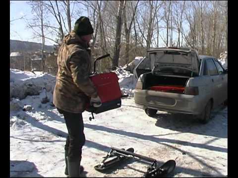 Минск-Мото представила первый снегоход - YouTube