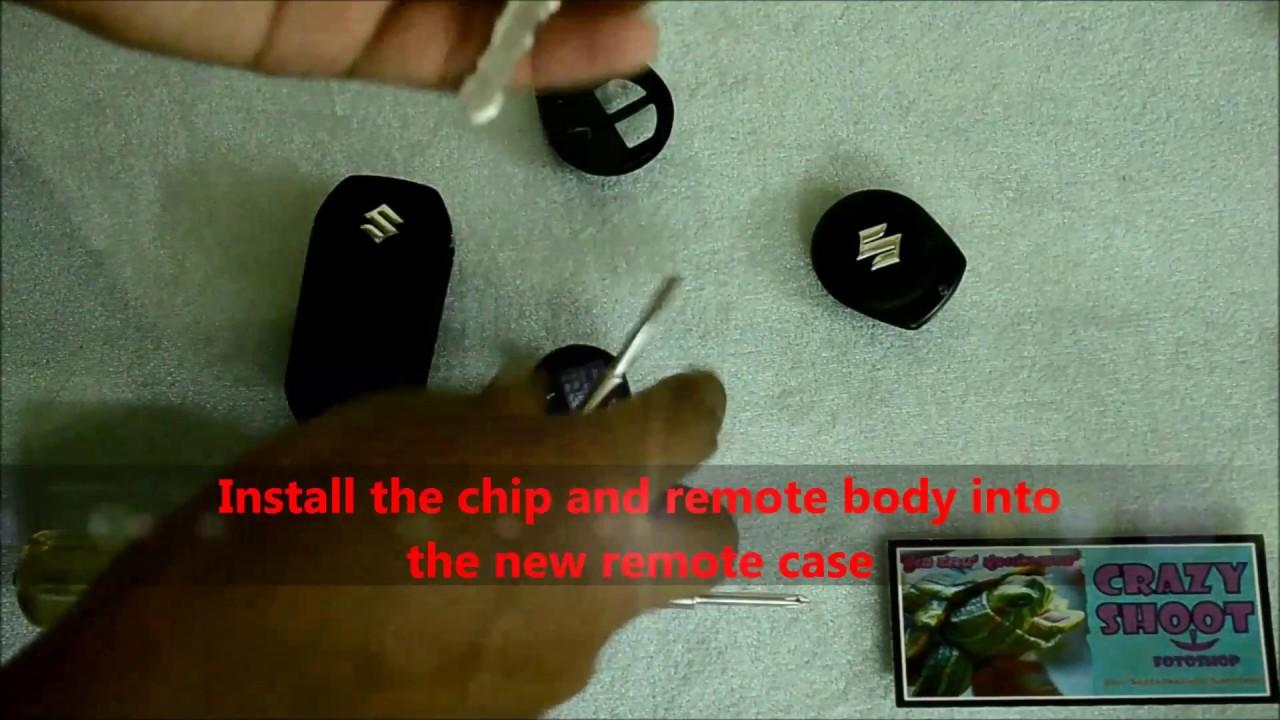 How to convert any old Maruti Suzuki Car's key into a new flip key?