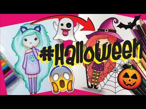 Transformando Bonequinha Tumblr Em Bruxinha Halloween