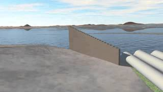3D Animation of Narlapur Pump House & Swithyard