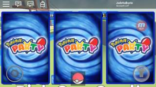 Roblox (Pokemon Party)- Legendary Card (Pack Opening