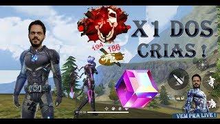 🔥FREE FIRE-AOVIVO🔥 X1 DOS CRIAS