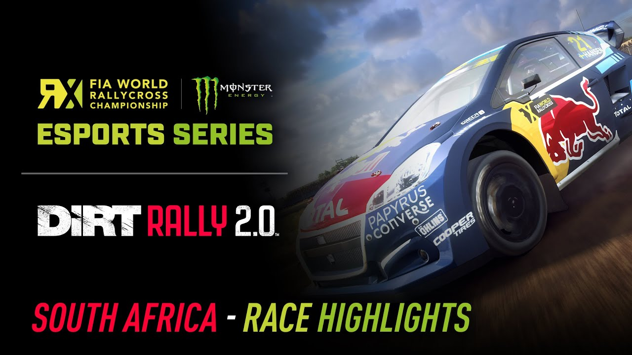 HIGHLIGHTS - South Africa - World RX Esports Series - DiRT Rally 2.0