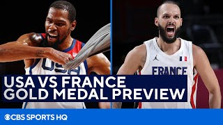 USA Basketball VS France Gold Medal Preview in the Tokyo Olympics