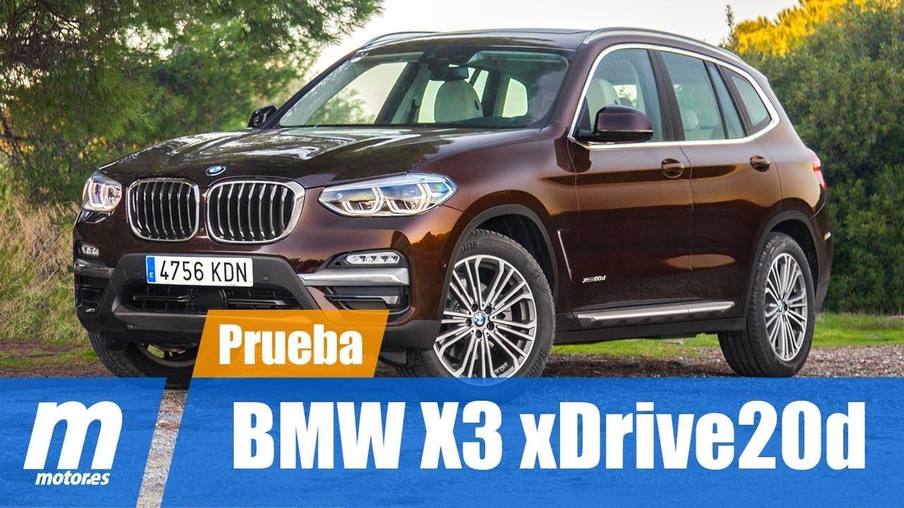Bmw X3 Xdrive20d    Prueba   Review En Espa U00f1ol
