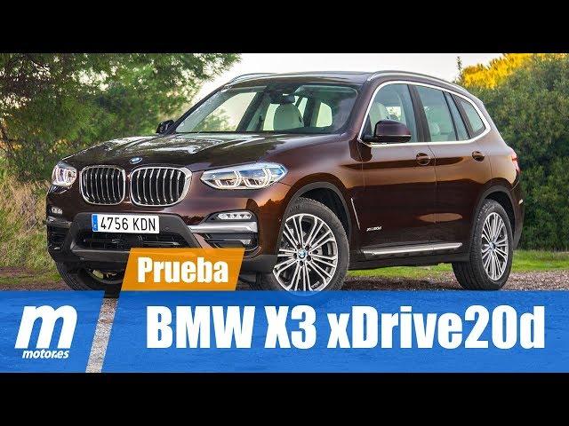 BMW X3 xDrive20d / Prueba/ Review en Español