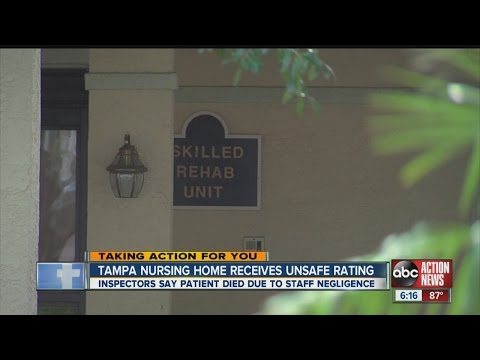 Tampa nursing home ranked among most dangerous in Florida