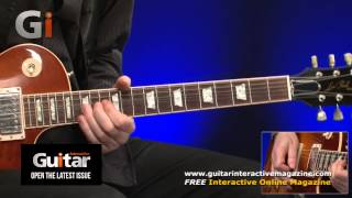 Paul Kossoff Style Guitar Performance With Michael Casswell | Guitar Interactive Magazine