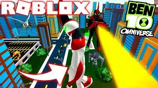 Roblox! -BEN 10 LE PLUS GRAND ALIEN GÉANT DANS BATTLE-INCREDIBLE SIMULATEUR DE BEN 10
