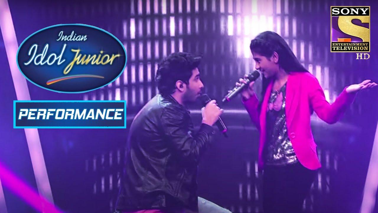 Download Nithyashree And Amaal's Stunning Performance! | Indian Idol Junior 2