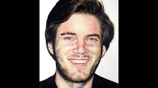 How to Draw PewDiePie