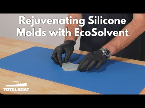 Rejuvenating Silicone Molds with EcoSolvent