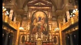 La Basílica de María Auxiliadora, Valdocco, Turín, la Especial Obra de San Juan Bosco.