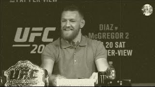 funny press conference ufc 202 of diaz and mcgregor hd