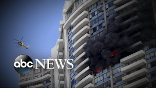 3 people dead in Hawaii high-rise apartment fire