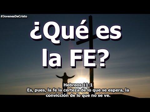 ¿Qué es la FE? ¿La FE salva? | Jóvenes de Cristo