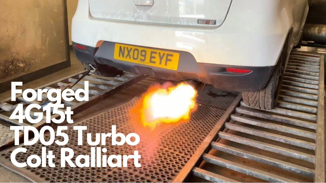 Forged 4g15t Engine TD05 Turbo Mitsubishi Colt Ralliart Over 300BHP