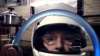How To Mount 808#16 Keyfob Spy Camera In Helmet