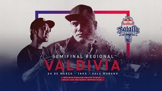 Semifinal Regional Valdivia, Chile 2018 - Red Bull Batalla de los Gallos