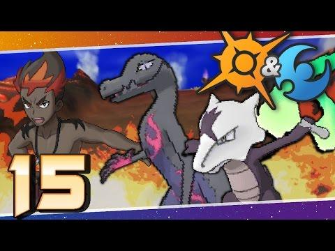 Pokémon Sun and Moon - Episode 15 | Captain Kiawe's Trial!