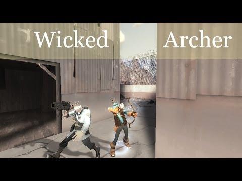 TF2: Wicked Archer (huntsman montage)