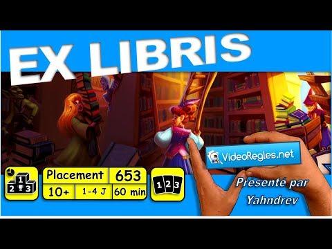 """Vidéorègle Jeu de Société """" EX LIBRIS """" par Yahndrev (#653)"""
