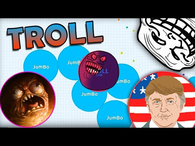 agario how to get big fast
