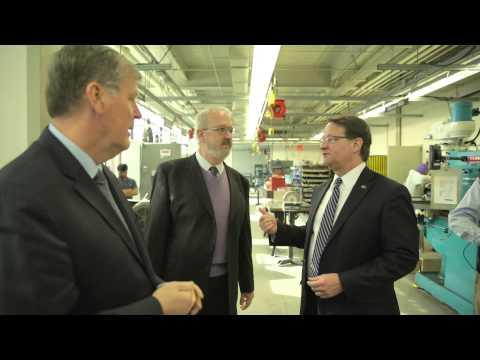 Senator Gary Peters Campus Visit
