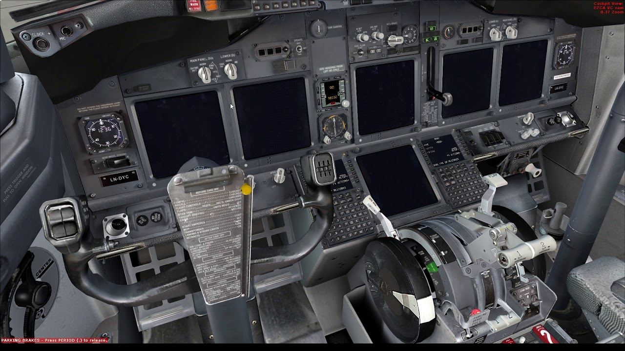 FSX: how to align the IRS in the PMDG 737