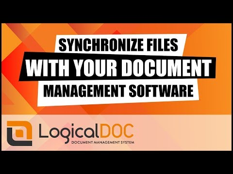 Synchronize Files With Your Document Management Software