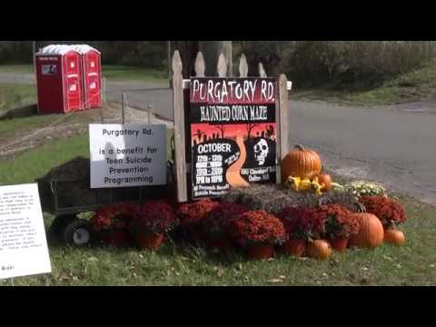 Haunted corn maze helps save lives