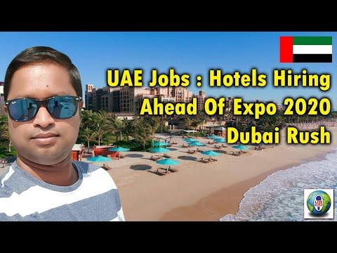 UAE Jobs | Dubai Jobs | Hotels Hiring | Expo 2020 Dubai Rush | Live Talk Dubai