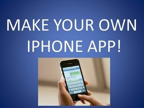 how to create an iphone app how to make iphone apps for free 18693