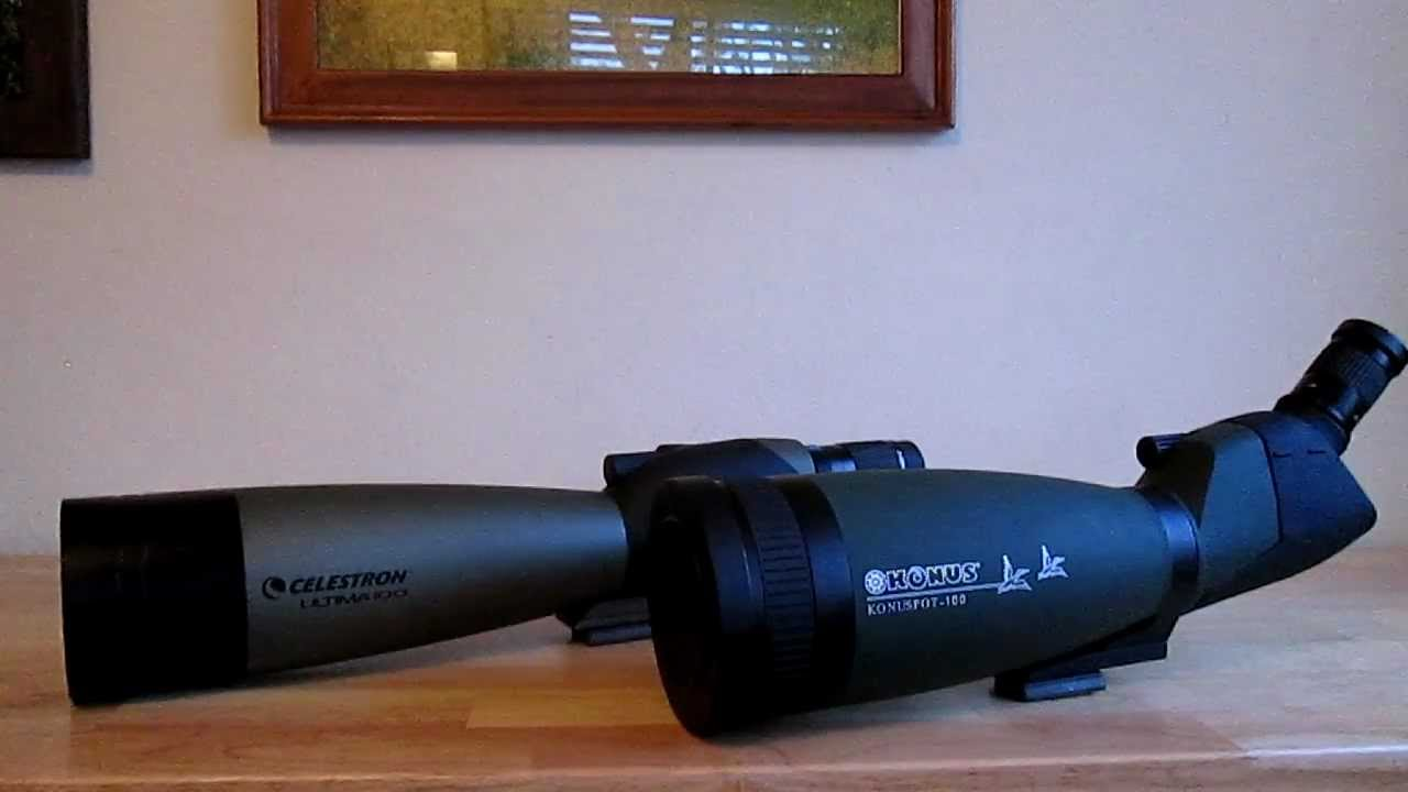 Konus Konuspot x Spotting Scope - mm Angled Scope ON SALE Better prisms, alloy metal green exterior and is completely waterproof/5(80).