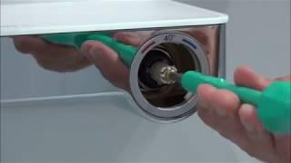 Výměna kartuše u termostatické baterie Hansgrohe ShowerTablet Select 300