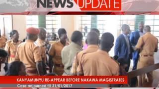 Kanyamunyu reappear in court