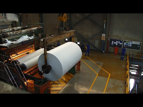 How Paper is made from sugar cane.